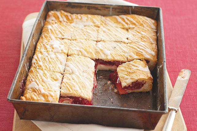 PHILADELPHIA-Cherry Danish Dessert Image 1