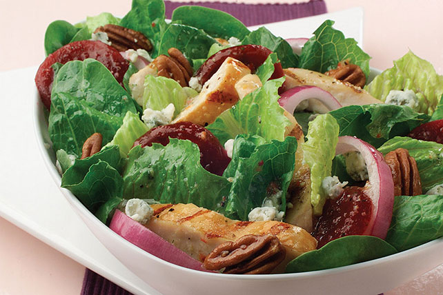 Chicken, Beet & Blue Cheese Salad