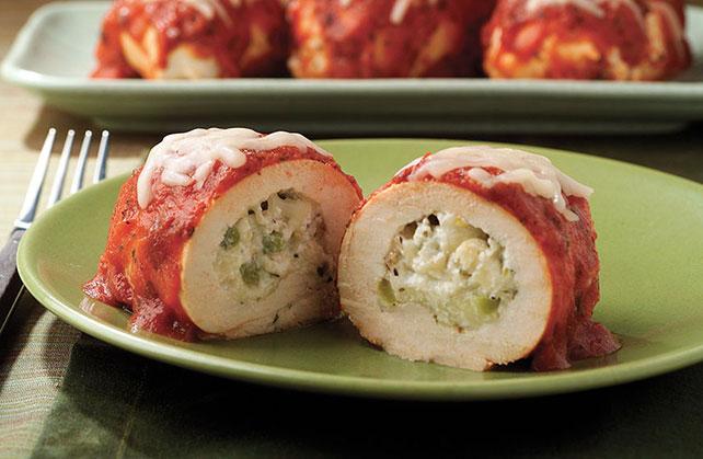 Mozzarella Chicken Roll-Ups Image 1