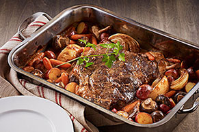 Beef Pot Roast and Winter Vegetables