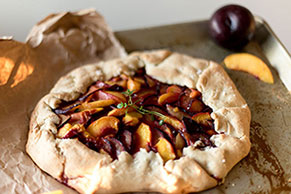Rustic Fruit Tart