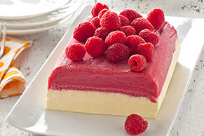 Low-Fat Raspberry Summer Sensation