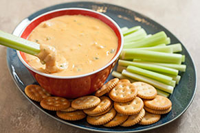 VELVEETA Buffalo Chicken Dip