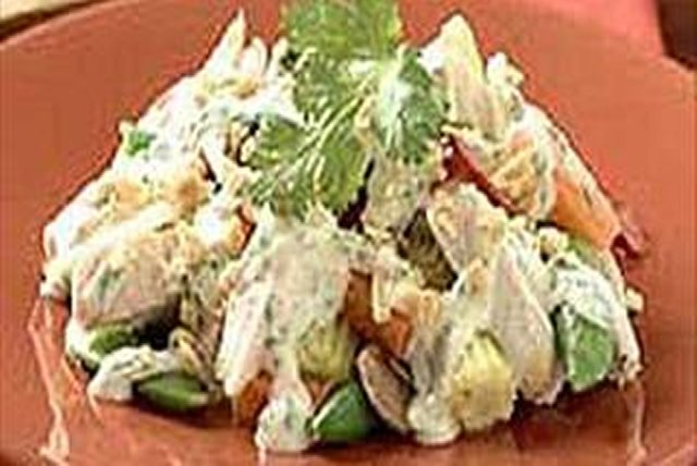 Cilantro-Chicken Salad Recipe - Kraft Recipes