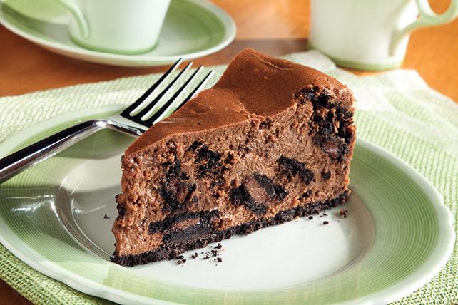 Cheesecake con crema de chocolate Image 1