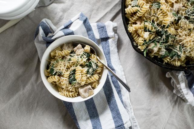 Spinach and Pork Tenderloin Pasta Toss Image 1