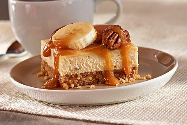 """Cuadritos de cheesecake de bananas """"Foster"""" Image 1"""