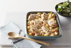 Chicken, Potato and Vegetable Bake