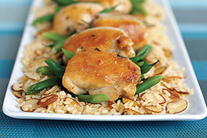 30-Minute Almond Chicken