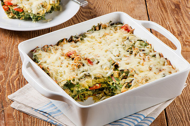 Easy Baked Egg Strata Recipe Image 1