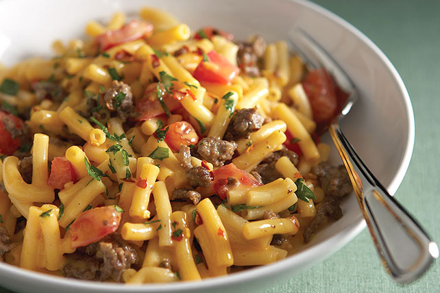 Quick Beef and Pasta Pot