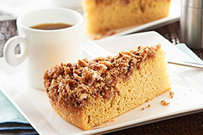 Cinnamon-Crusted Coffee Cake