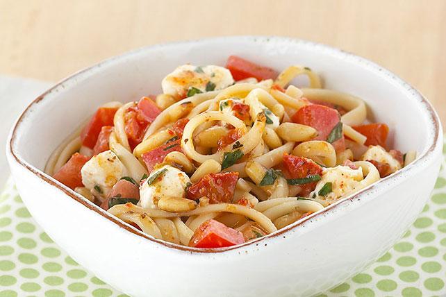 Creamy Basil & Tomato Pasta Image 1