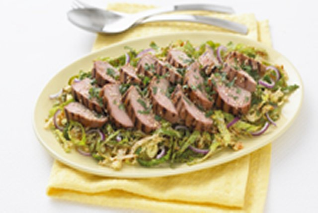 Thai Pork with Savoy Cabbage Image 1