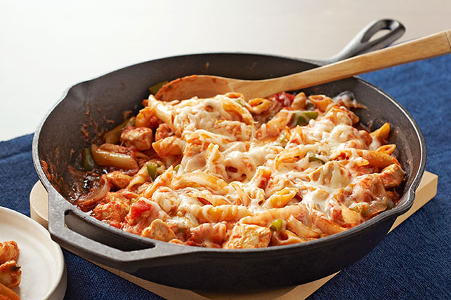 Italian Chicken Pasta Skillet Kraft Recipes