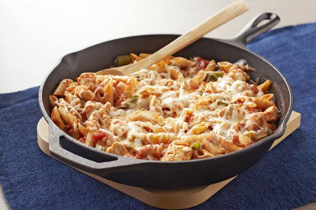 Poêlée de poulet et de pâtes à l'italienne Image 1