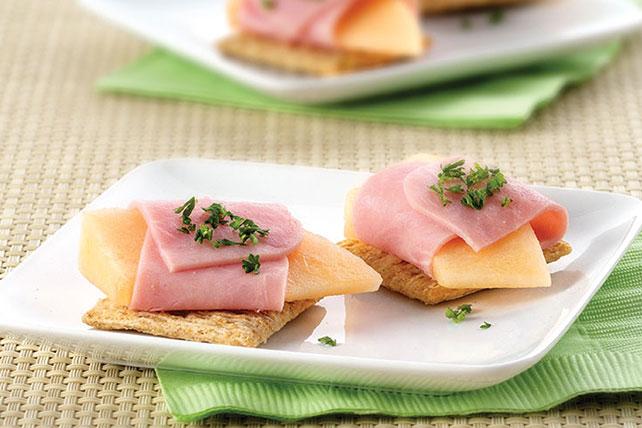 Ham & Melon Wrap Image 1