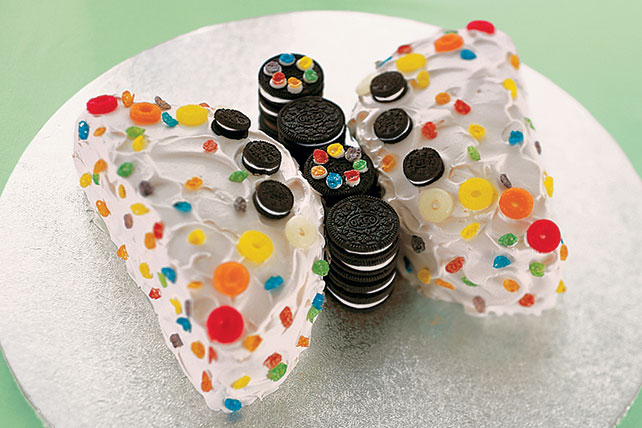 Precioso pastel en forma de mariposa Image 1