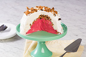 Easy Ice Cream Bombe