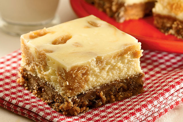 Cookie Crust Peanut Butter Cheesecake Squares Image 1