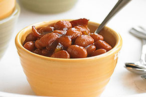 Slow-Cooker Homemade Baked Beans