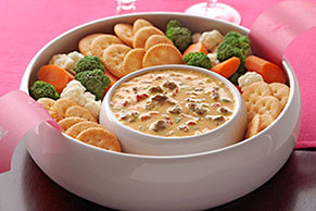 VELVEETA® Spicy Cheeseburger Dip
