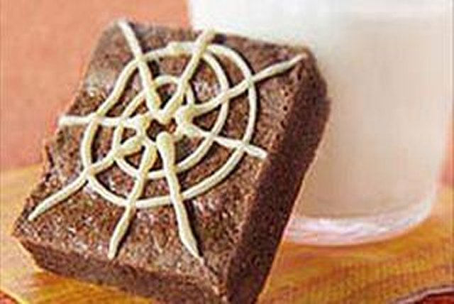 BAKER'S One-Bowl Halloween Brownies Image 1