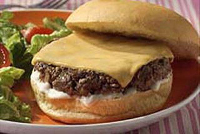 Hamburguesa con tocino y champiñones Image 1