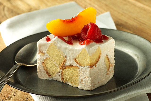 Frozen Peach Shortcake Squares - Kraft Recipes