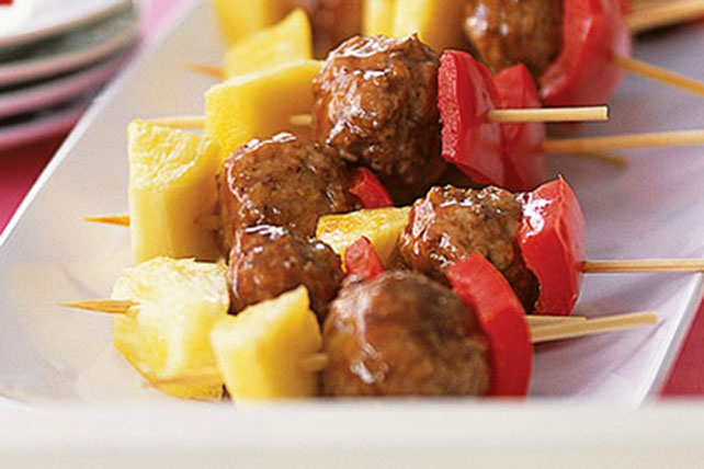 Skewered Burger Bites Recipe