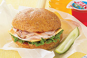 Simply Terrific Turkey- BBQ Sandwich