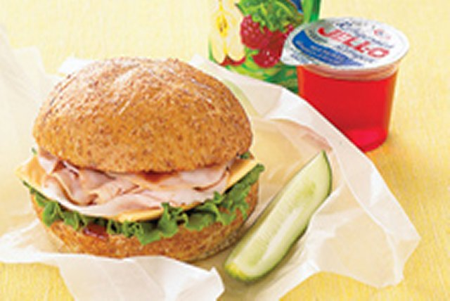 Simply Terrific Turkey BBQ Sandwich Image 1
