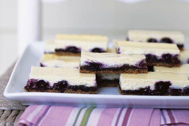 Blueberry Cheesecake Bars Image 1