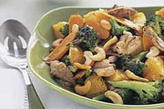 Citrus Pork Stir-Fry Image 1