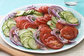 Cucumber-Tomato Salad