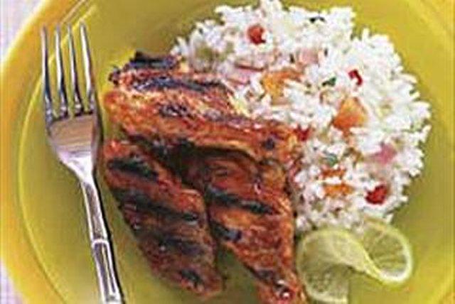 Alitas de pollo al estilo jerk jamaiquino Image 1