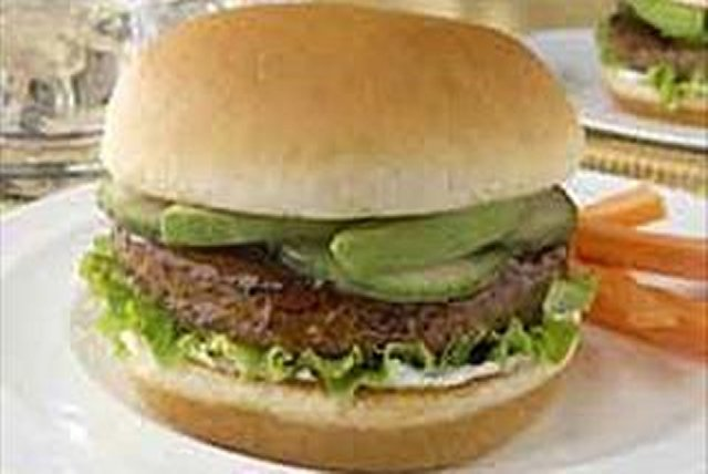 Awesome BBQ Burgers Image 1