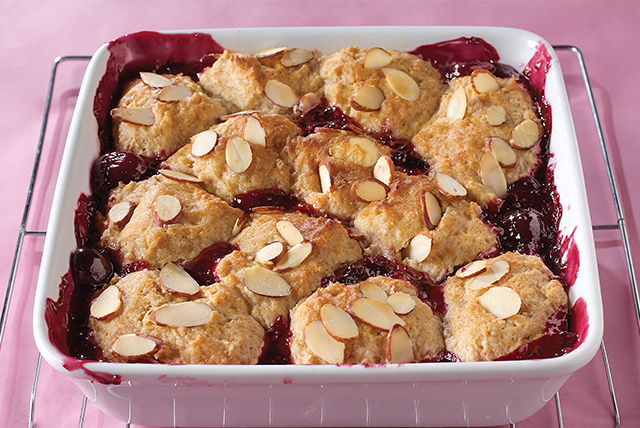 Bing Cherry Cobbler Image 1