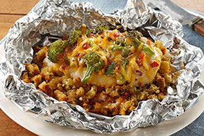 Foil-Pack Chicken & Broccoli Dinner Image 1