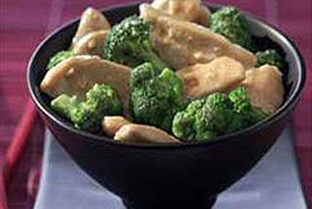 Pollo al dijón con brócoli Image 1