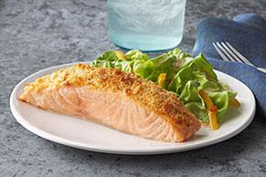 Parmesan Baked Salmon Image 1