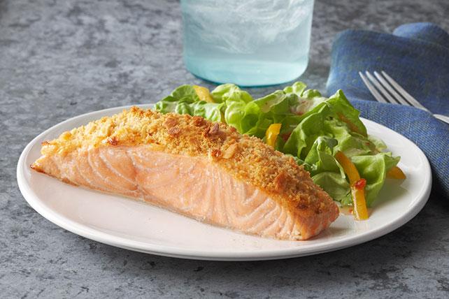 Parmesan Baked Salmon | Baked Salmon Recipes You'll Love | Homemade Recipes