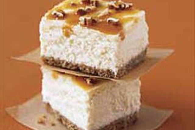 Barras de queso crema y caramelo Image 1