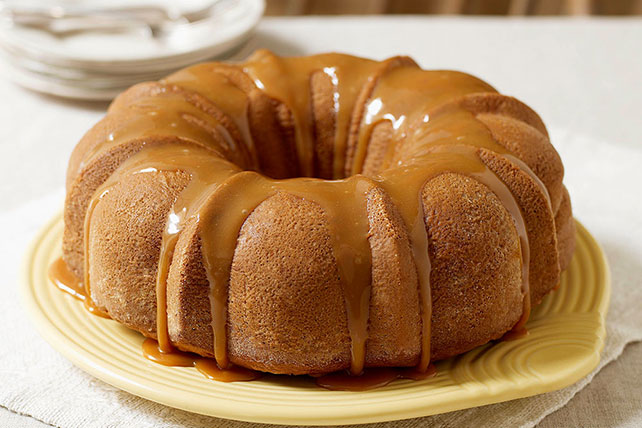 Moist Caramel Apple Cake Image 1