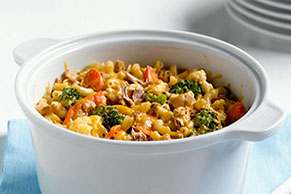 Cheesy Tuna Noodle Casserole