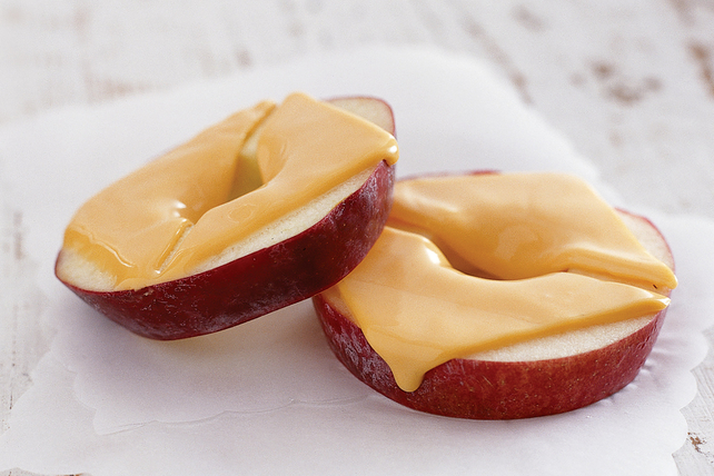 Cheesy Apple Rings Image 1