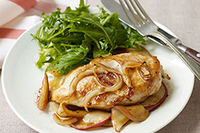 Maple-Baked Apple Chicken