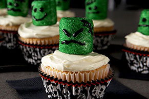 Slimy Monster Cupcakes Image 1