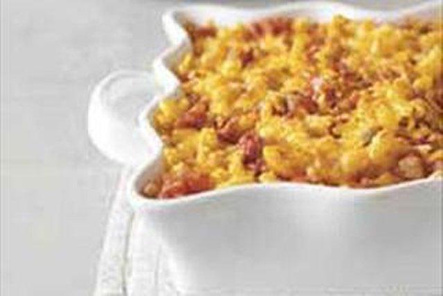 Macarrones con queso y salsa al horno Image 1
