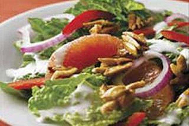 Ensalada con toronja y almendras caramelizadas Image 1